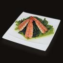 restaurant-sakura-entrees-wakame-crevette