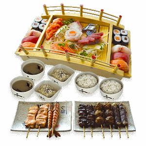 Restaurant Japonais Sakura - Plateau Sushi Okinawa