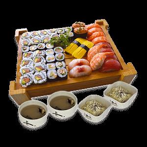 Restaurant Japonais Sakura - Plateau Susshi Sakai