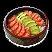 Restaurant Japonais Sakura Bordeaux - Tchilaschi Sushi Saumon Avocat